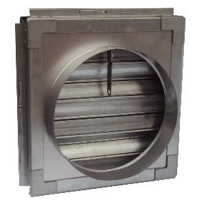 Curtain Fire Damper