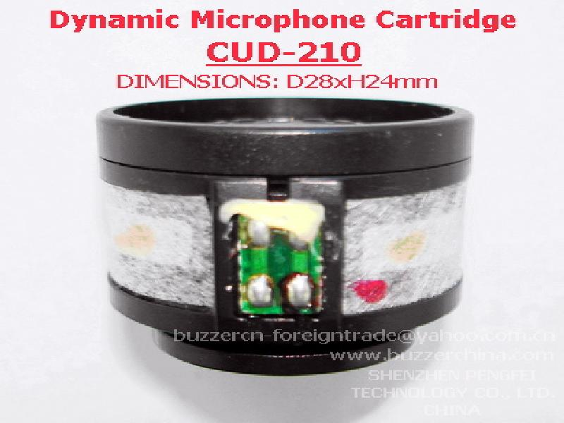 Dynamic Microphone Cartridge