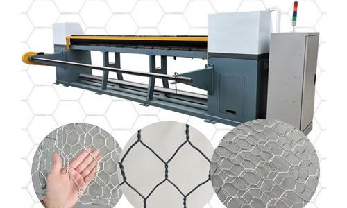 Complete Machinery For Production Of Hexagonal Mesh Wire And Mesh Netting