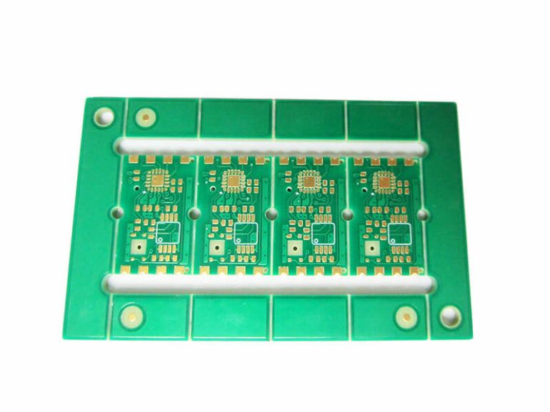 Castellated Holes PCB