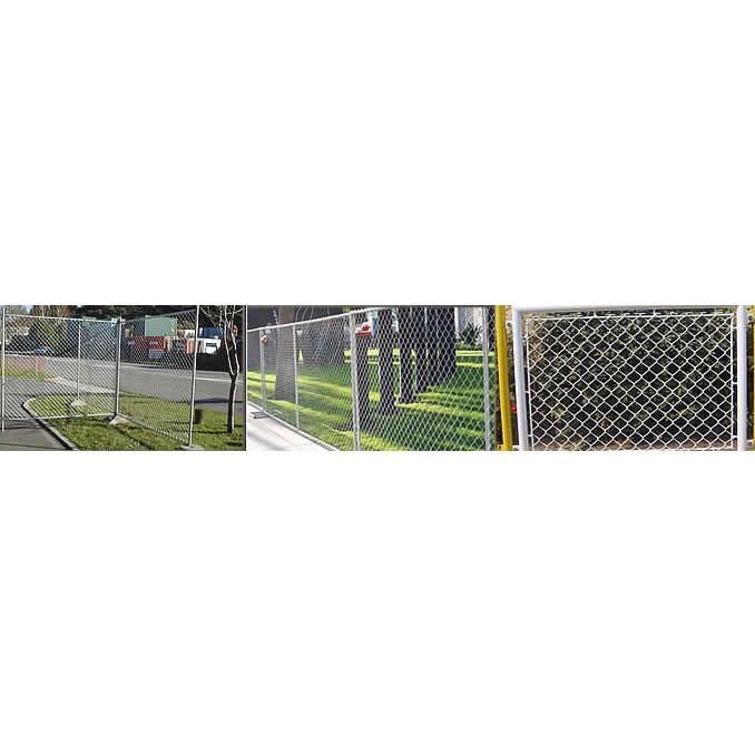 Framed Chain Link Portable Fence