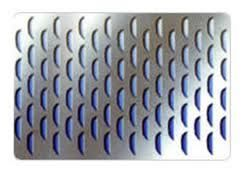 Semi-Circular Hole Metal Sheet