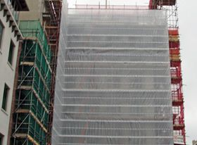Fine Mesh Debris Safety Netting