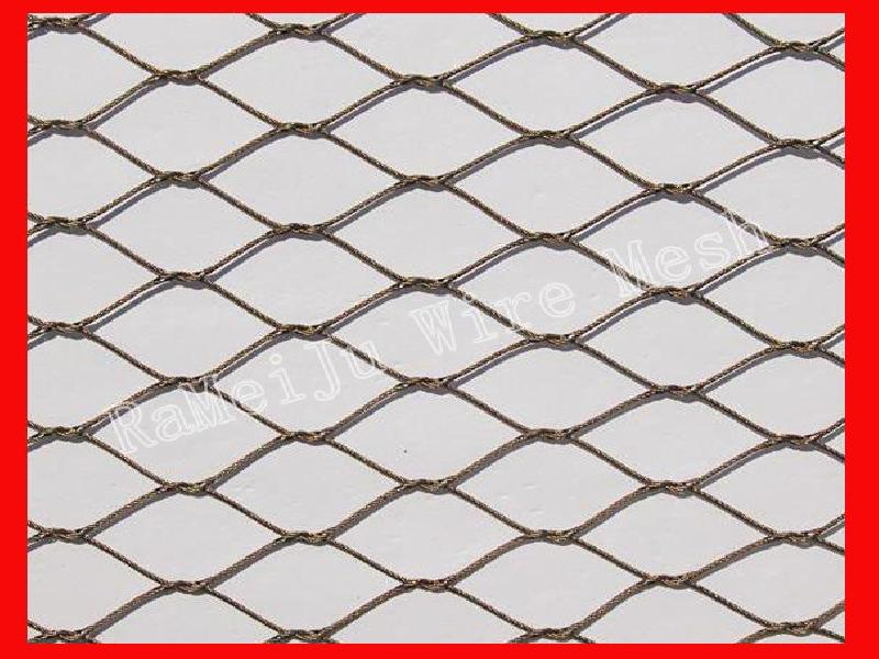 Animal enclosure¦òstainless steel mesh¦òrope mesh¦òzoo mesh¦òRaMeiJu Metal fabrics.