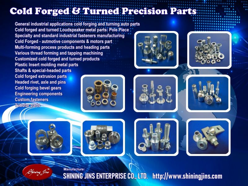 Fastener - Cold forged & Turned Fasteners made in Taiwan