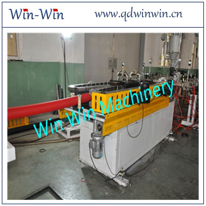 PP 1500mm Single Wall Corrugated Pipe Extruder