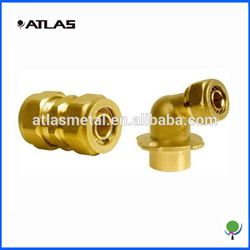 brass copper pipe fitting connectors machining parts