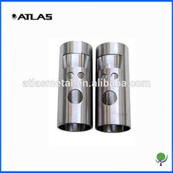 stainless steel tube cnc machining part