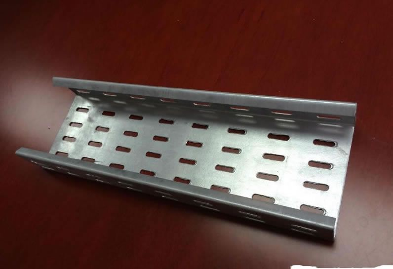 Single Rail Aluminum Cable Tray