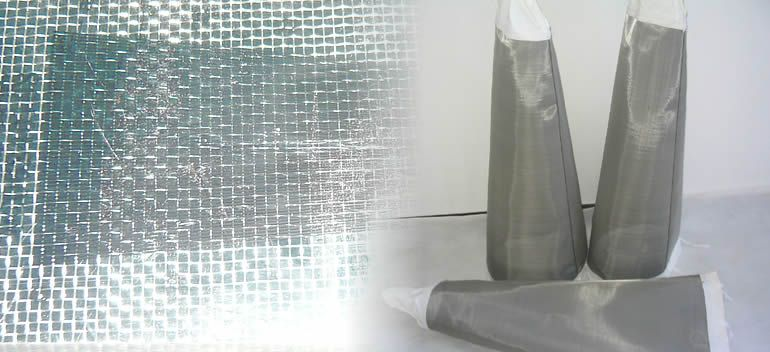 Plain weave stainless steel bolting cloth