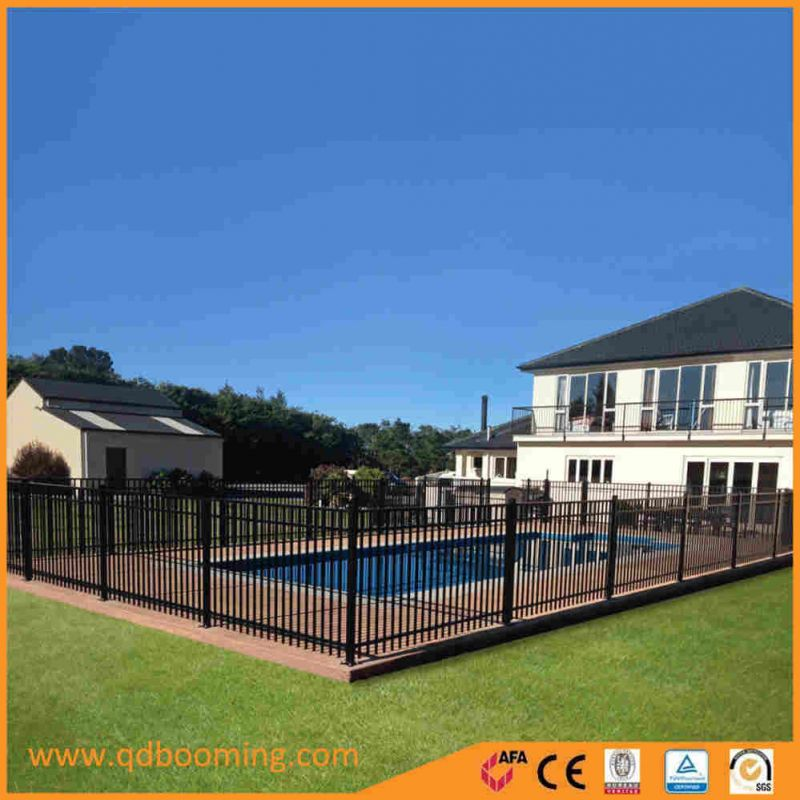 Powder Coating Aluminum Tubular Swimming Pool Fence