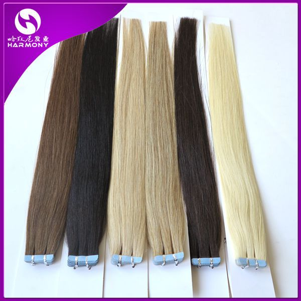 Tape in Skin Human Hair Extensions,Remy Tape Hair Extensions,40pcs/bag 100g,50g/Bag