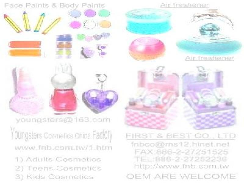 Cosmetics & Face Paint for & Air Fresheners for KIDS & TEENS
