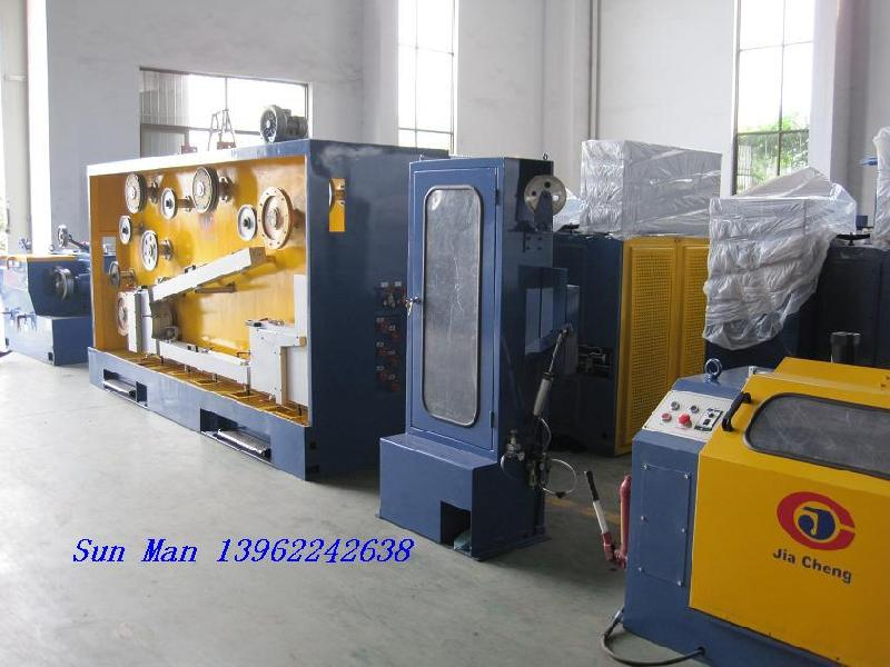 Drawing and annealing machine