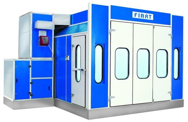 SPRAY BOOTH ; PAINT BOOTH
