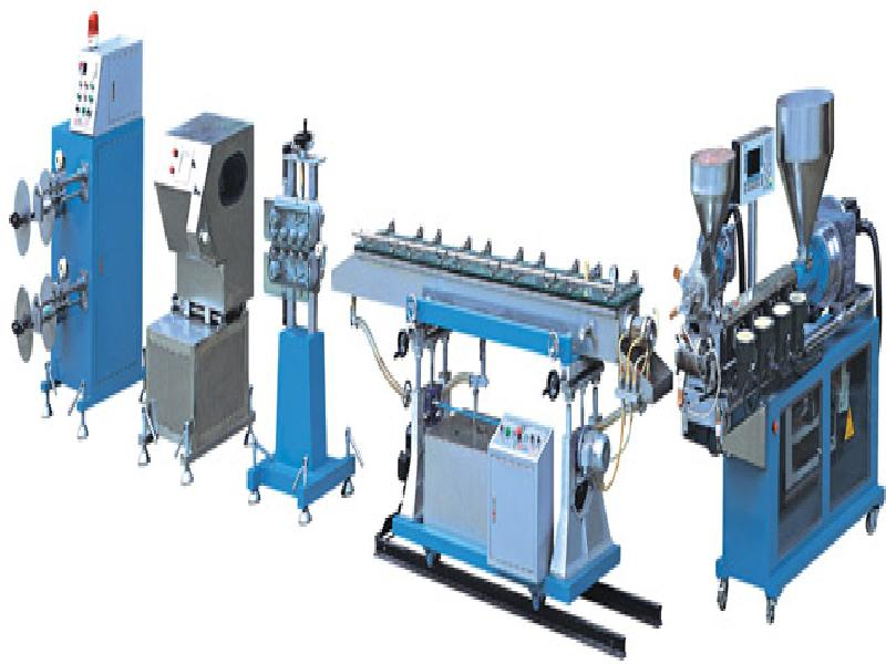 medical pipe extrusion line