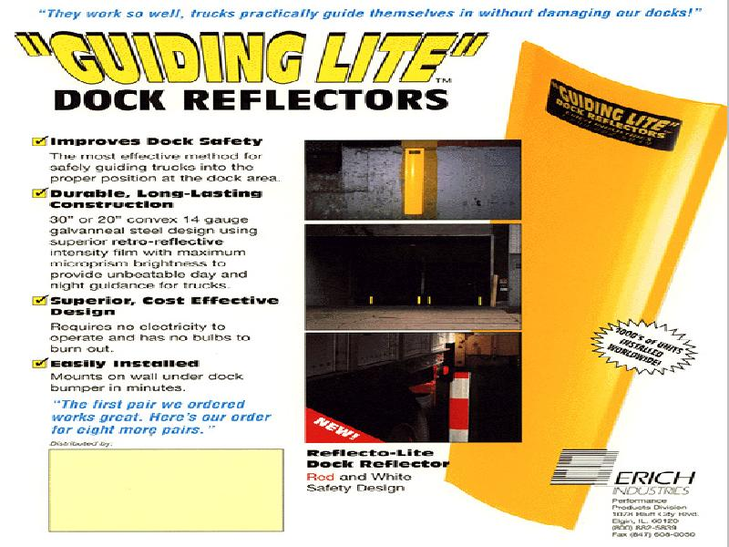 Guiding Lite Dock Reflectors