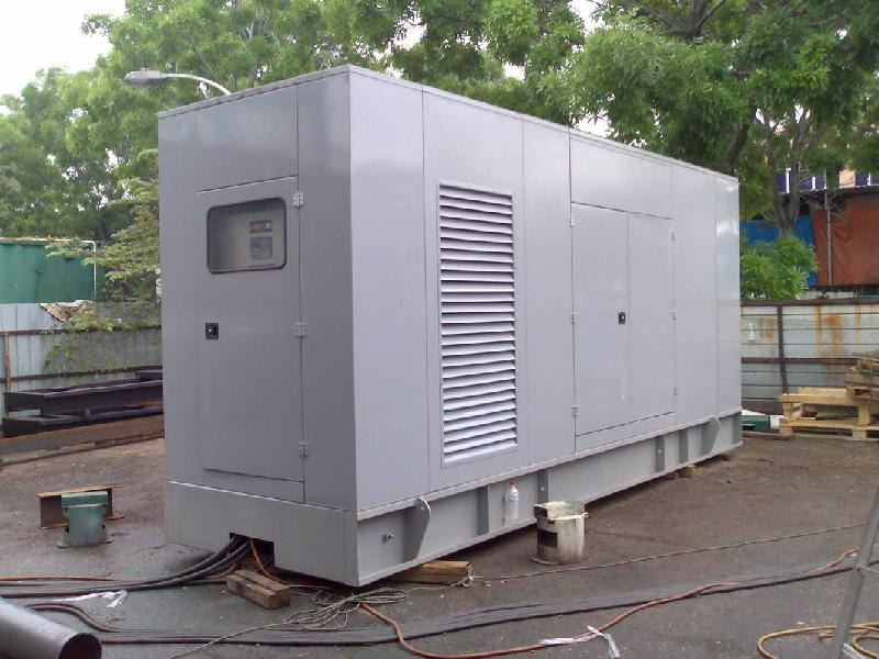 Acoustic Genset Canopy