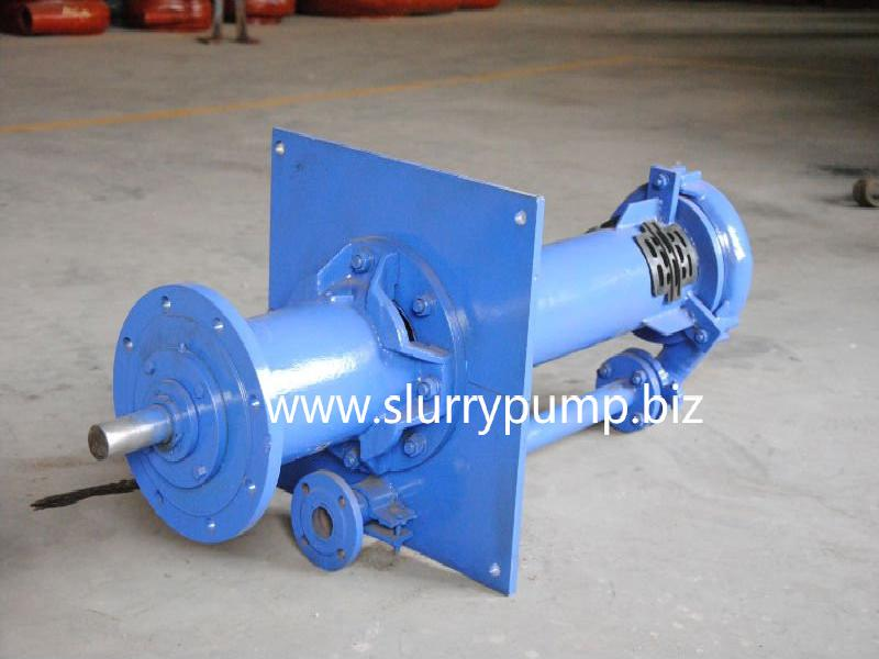 Vertical centrifugal sump pump for mining