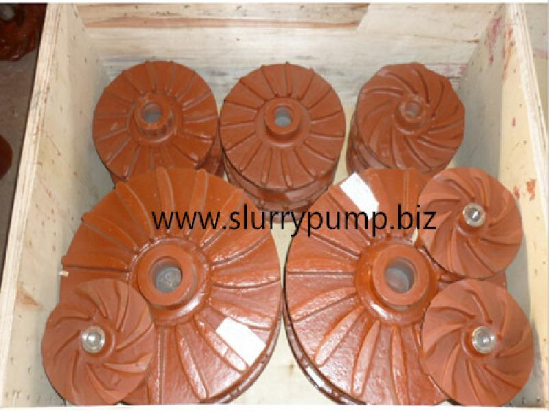 Slurry pump spares impeller