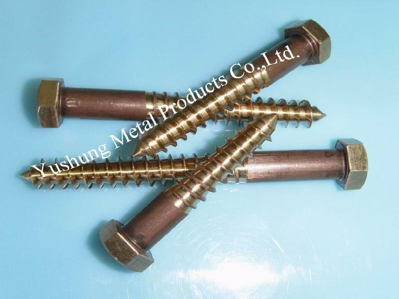 Silicon Bronze Lag Bolts(fastener)