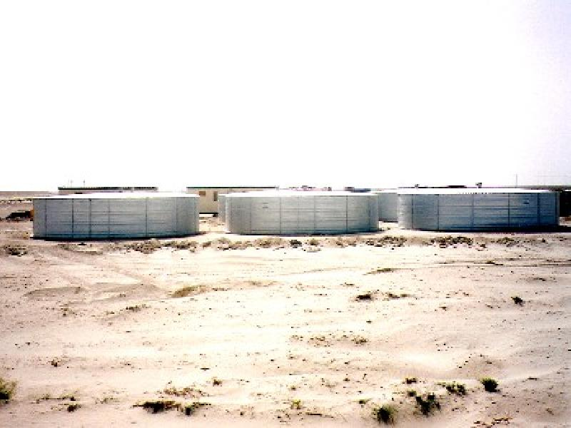 Tanks/Water Tanks/Water Storage Tanks/zincalume Liner Tanks