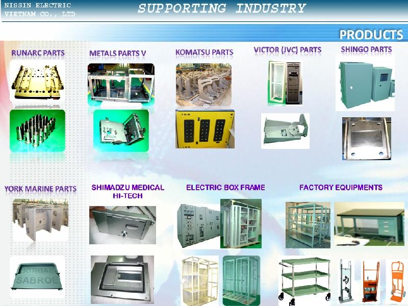 Contact manufacture