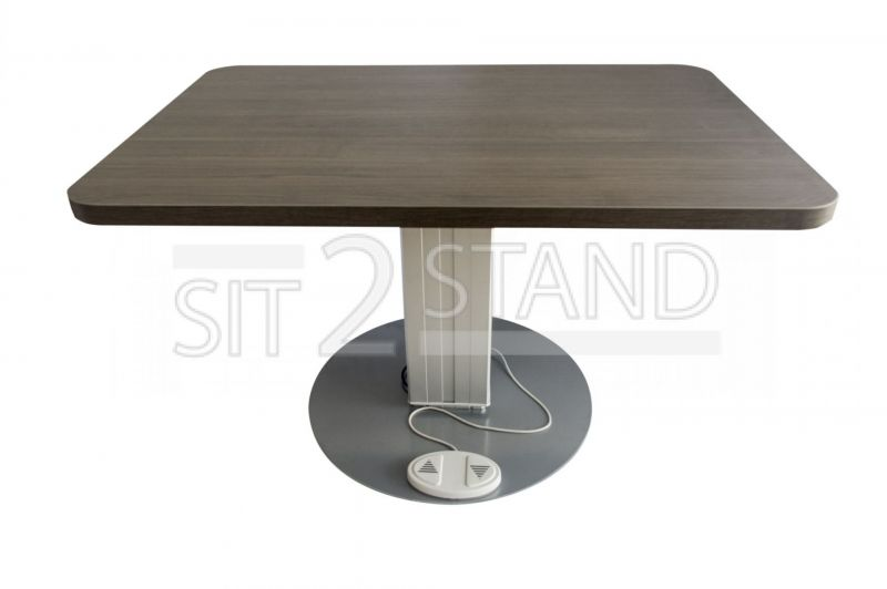 Electric Height-Adjustable Conference Room Table