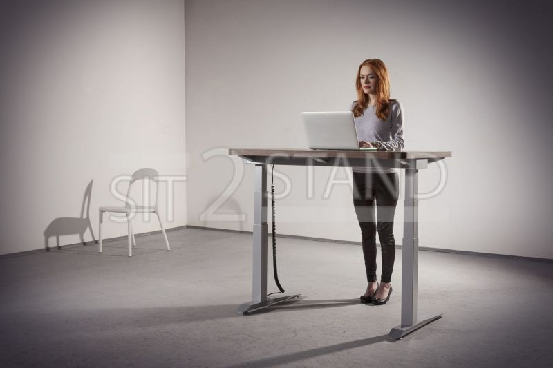 Electric Height-Adjustable Office Table