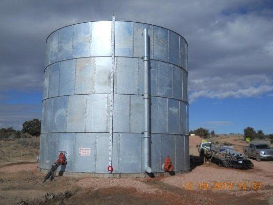 AWWA D103-09 Bolted Tanks - Hot Dipped Galvanized Coated