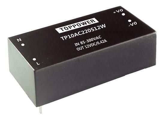 10W 4KV Isolation Wide Input AC/DC Converters TP10AC220S15W
