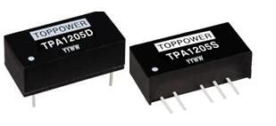 TPA1215SP 1W DC/DC converters 12Vin 15Vout with SC protection