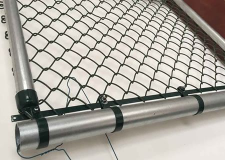 Aluminized Chain Link Fencing
