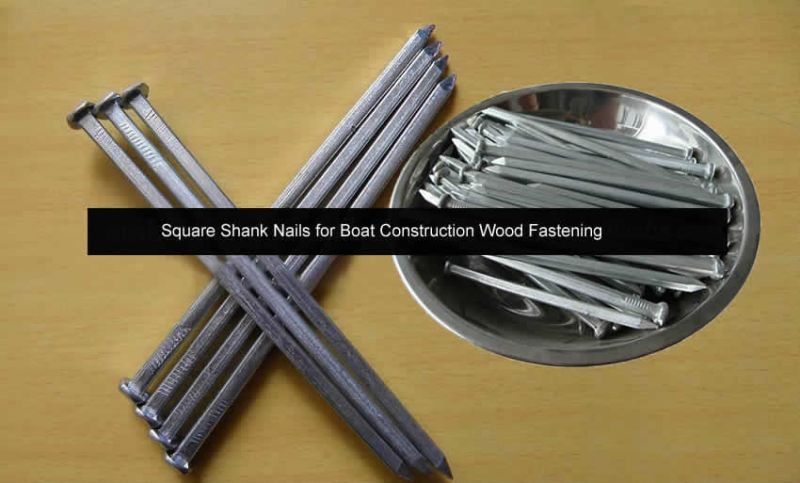 Square Shank Boat Construction Nails