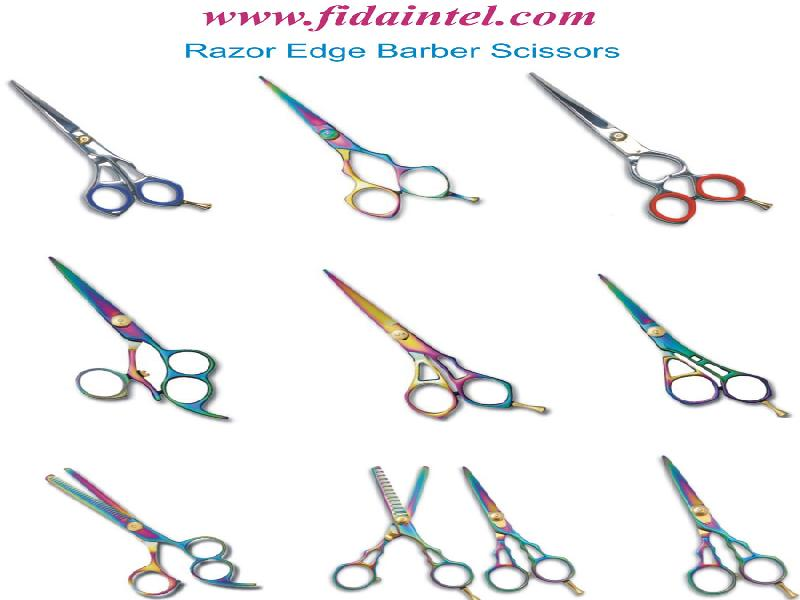 Barber Scissors, Razor Edge Scissors, Hairdressing Scissors, Tweezers, Scissors, Thinning Scissors, Micro Scissors
