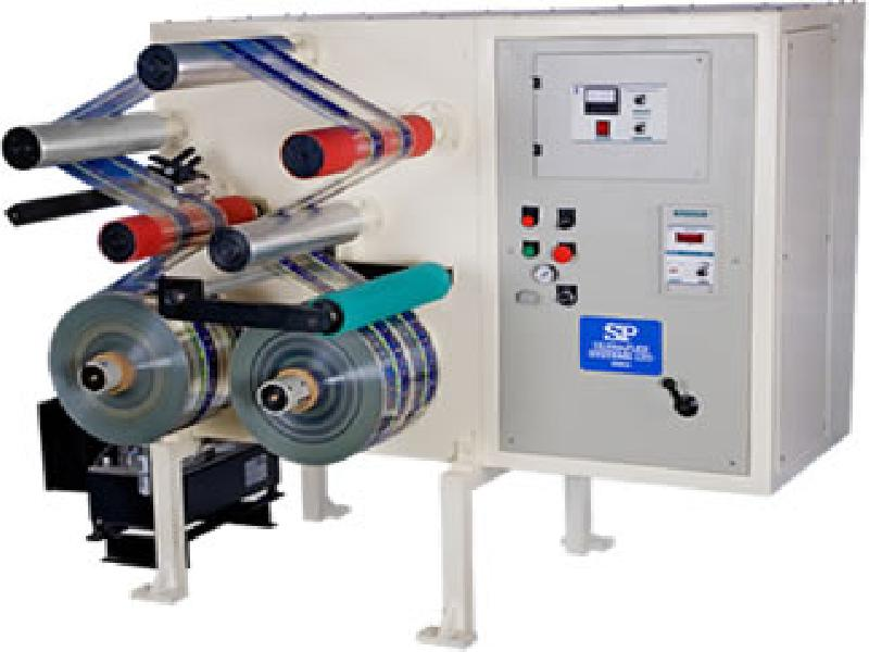 Doctoring and coil rewinding Machine