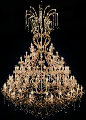 Marie Theresa 108-Light Large Size Crystal Chandelier