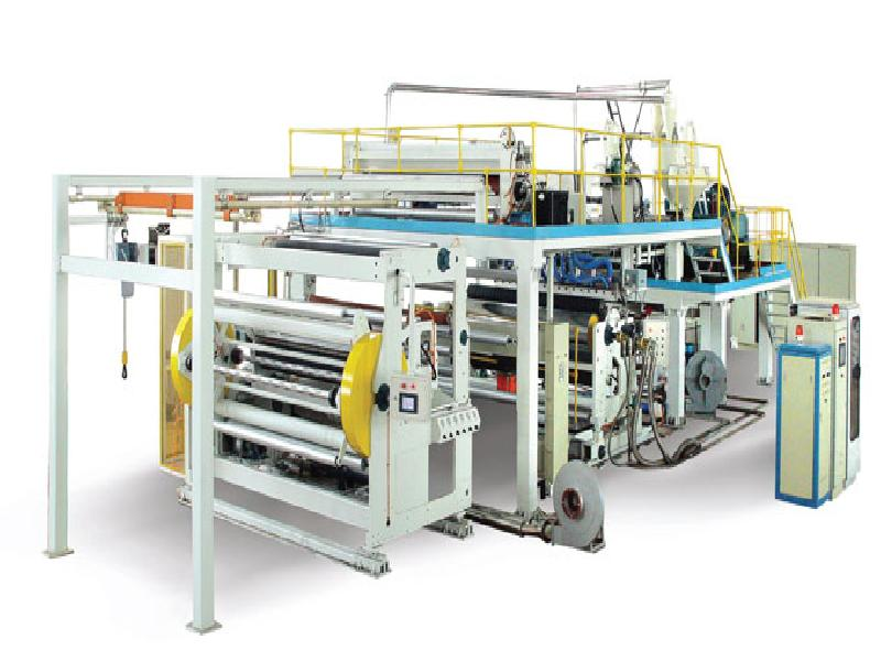 CPP, CPE, EVA multi-layer co-extrusion cast film line