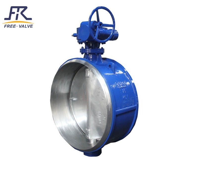 Butt Welded Butterfly Valve,Weld Butterfly Valve,Triple Offset Butt Welded Butterfly Valves