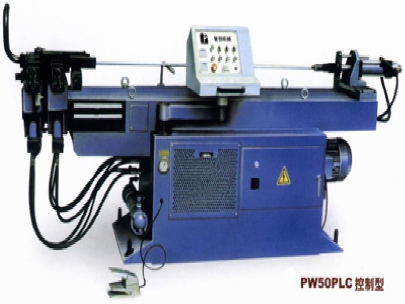 PLC pipe bending machine