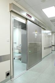 x-ray room s/s 304 powered Sliding protective Doors