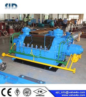High pressure boiler feed water pump
