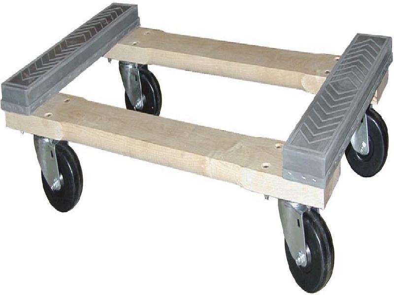 Rubber cap dolly