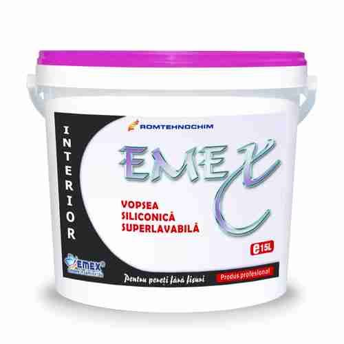 "INDOOR SILICONIC WASHABLE PAINT ""EMEX"""