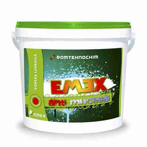 "ANTI-MOULD WASHABLE PAINT ""EMEX"""