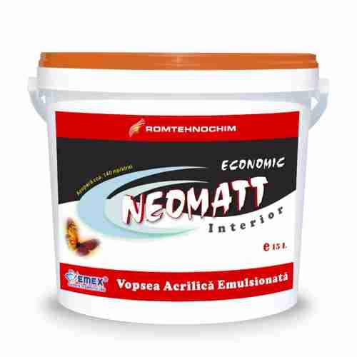 "OUTDOOR ECONOMIC WASHABLE PAINT ""NEOMATT"""