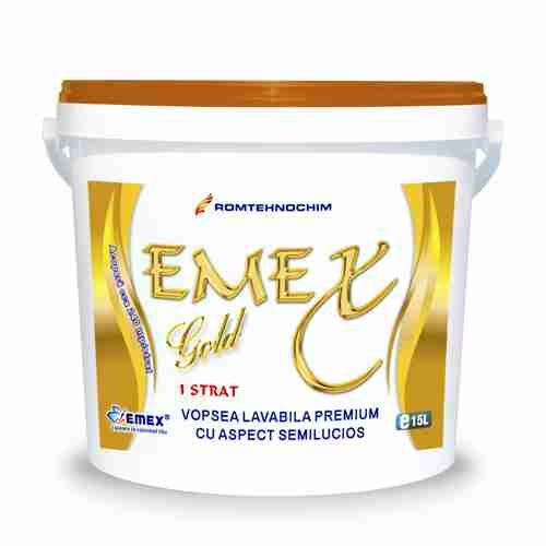 "PREMIUM WASHABLE PAINT ""EMEX GOLD"""
