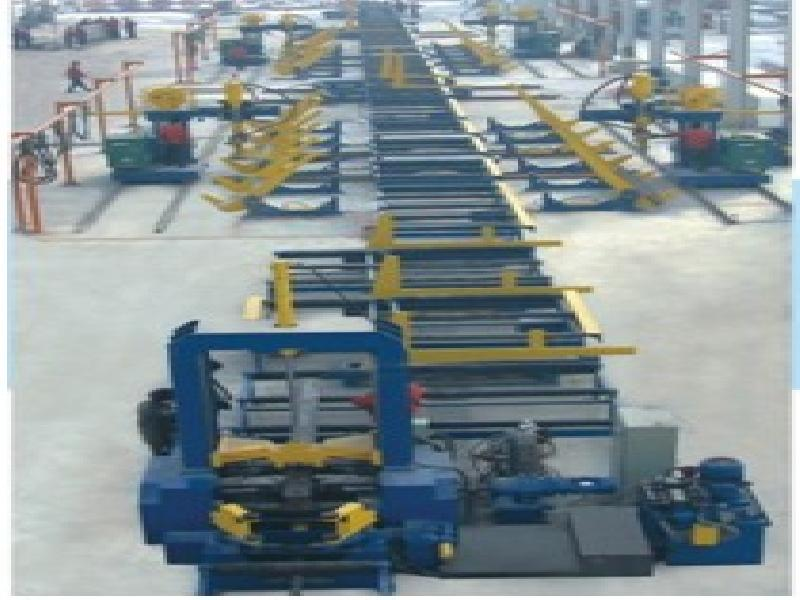 H-beam production line, I beam production line