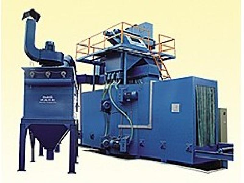 H-beam shot blasting machine