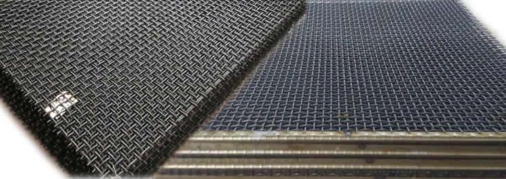 316 Crimped Mesh Mining Screen